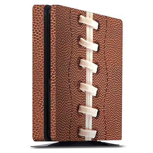 DeinDesign Skin kompatibel mit Sony Playstation 4 PS4 Slim Folie Sticker Fußballer Ball American Football