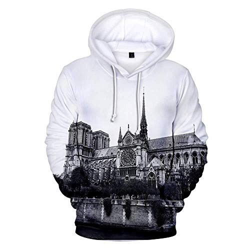 yyqx container Hooded Casual 3D Printing Hoodies European Architectural Group White Unisex Outdoor Hoodiy Long Sleeve Couples Pullover Adjustable Loose Joggers Sweatshirts-Color_4XL