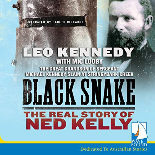 Black Snake audiobook cover art