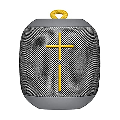 Ultimate Ears Wonderboom Portable Wireless Bluetooth Speaker, 360 ? Surround Sound, Waterproof, 2 Speaker Connection for Powerful Sound, 10h Battery, Gray by Ultimate Ears