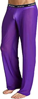 Men's Mesh See Through Pajama Pants Nightwear Sleep Bottoms Underwear