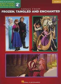 Songs from Frozen, Tangled and Enchanted: Easy Piano Play-Along Volume 32