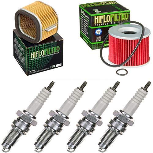 Preisvergleich Produktbild Luftfilter Ölfilter Zündkerzen für Z 1100 ST Baujahr 1981-1983 Servicekit Wartungskit