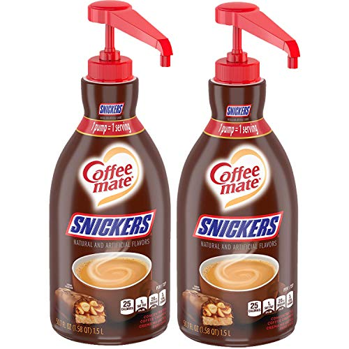 Coffee Mate Snickers Coffee Creamer