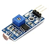 The Light Sensor module base on a Light Dependent Resistor (LDR) This means that the output signal from this module will be HIGH in bright light, and LOW in the dark. Working voltage: 33V-5v Output: do digital switch output (0 and, ao analog voltage ...