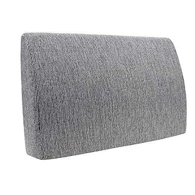 Ideal almohadilla versátil con una longitud de 70 cm para camas de tamaño estándar 140x200, pero también es adecuado para todos los otros tamaños de la cama, así como cama, un sofá y variada gama de muebles. Se puede usar como respaldo y como almohad...