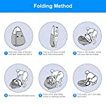 Laelr Pop up Toilet Tent, 4 Pack Shower Privacy Toilet Changing Room Changing Tent Foldable & Portable Beach Dressing… 13