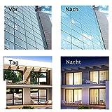 Fitlife Sonnenschutz Fensterfolie Selbsthaftend für Sonnenschutz Fenster Außen und Innen, Sonnenschutzfolie für Schlafzimmer UV-Schutz 90 x 400cm - 3