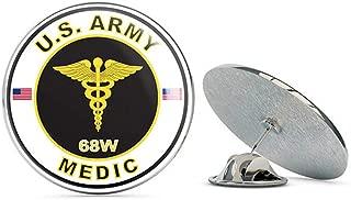 Veteran Pins U.S. Army MOS 68W Medic Metal 0.75
