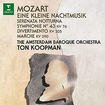 Mozart: Eine kleine Nachtmusik, Serenata notturna & Symphony No. 43