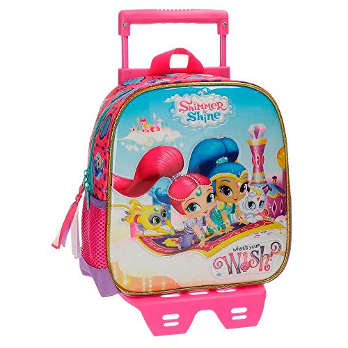 Shimmer and Shine Wish Kindergartenrucksack mit Trolley