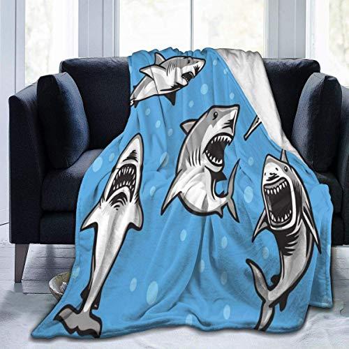 Manta ultra suave para cama, sofá, sala de estar, 127 x 102 cm