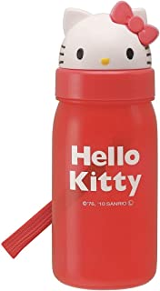 Skater Die-Cut Straw-Type Water Bottle 350ml Hello Kitty PBS3ST