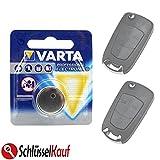 Varta Llave de Coche batería para Opel Astra H, Corsa D Omega Signum Vectra Zafira