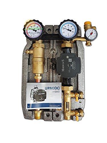 \'Gruppe von Aufpumpen A Zwei Wege 1mit Pumpe Hybrid für thermische Solaranlagen