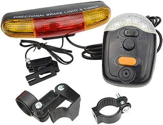 XLX Multifunctional 7 LED Bicycle Turning Light Bike Tail Lamp Electric Horn Brake Lamp..