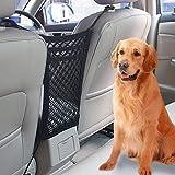 VIKEY Auto Organizer Netz - Universal KFZ Auto Netz Tasche Kofferraum Netz Barrier für Hunde...