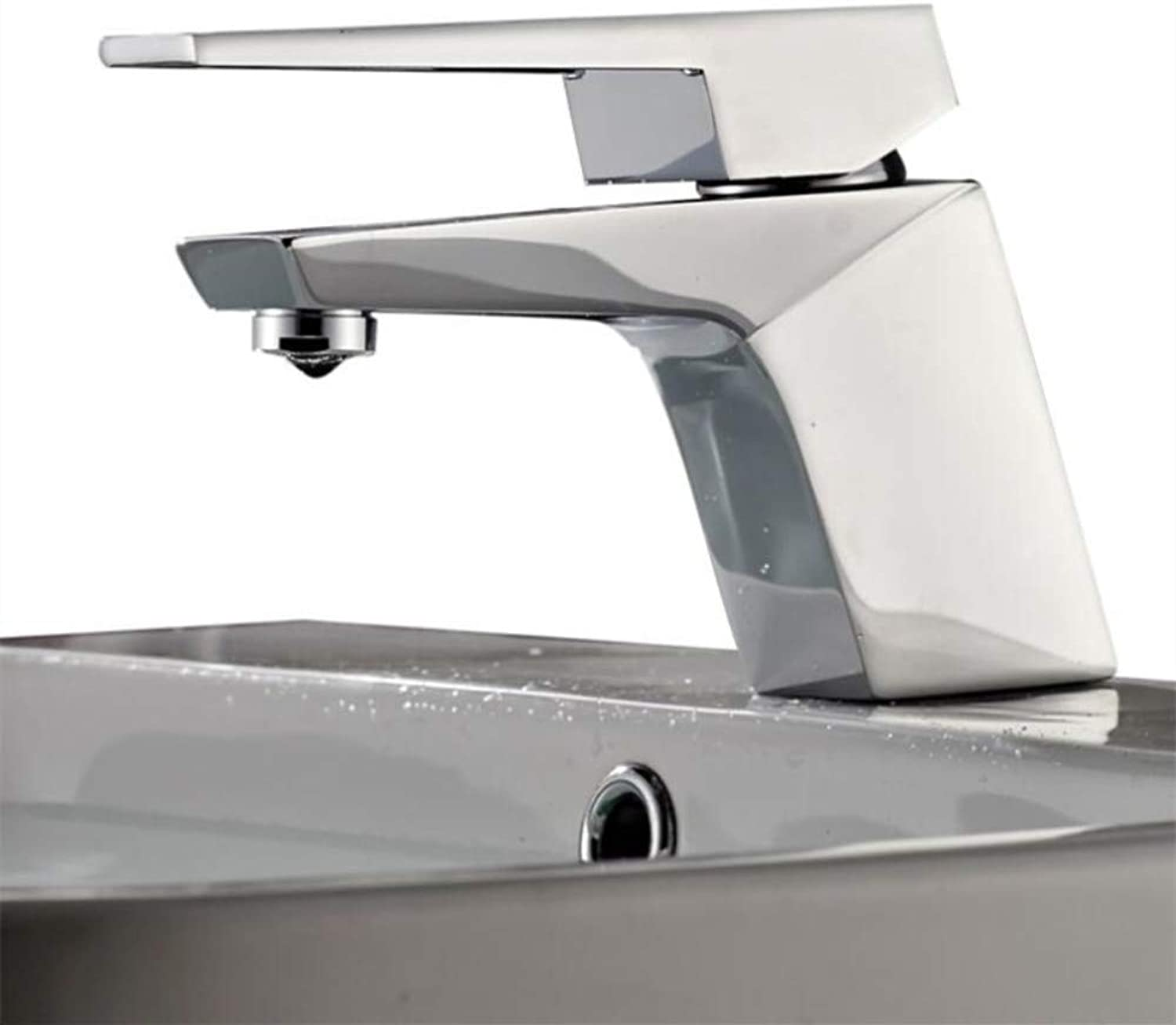 Kitchen Sink Taps Bathroom Sink Taps Basin Faucet Brass Chrome Faucet Brush Nickel Sink Mixer Tap Vanity Hot Cold Water Bathroom Faucets