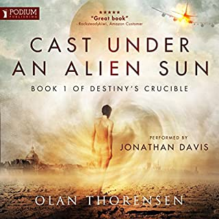Cast Under an Alien Sun cover art