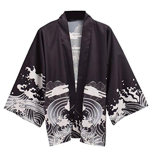 GRACEART Mujer Godo Kimono Cubrir Arriba
