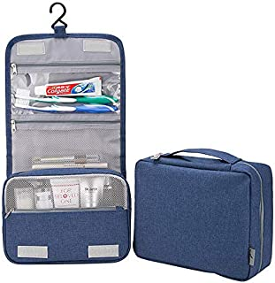 Active Roots Travel Hanging Toiletry Bag for Men and Women Waterproof Shower Organizer