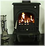 "Castmaster stoves® -""Newbury"" Wood Log Burning Burner Multi Fuel Stove 5.5 kw"