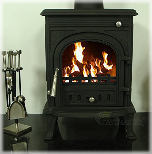 Castmaster stoves® -'Newbury' Wood Log Burning Burner Multi Fuel Stove 5.5...