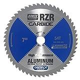 Champion Cutting Tool Corp Circular Saw Blade 7', 54T (RZR-7-54-NF)-Cut Aluminum