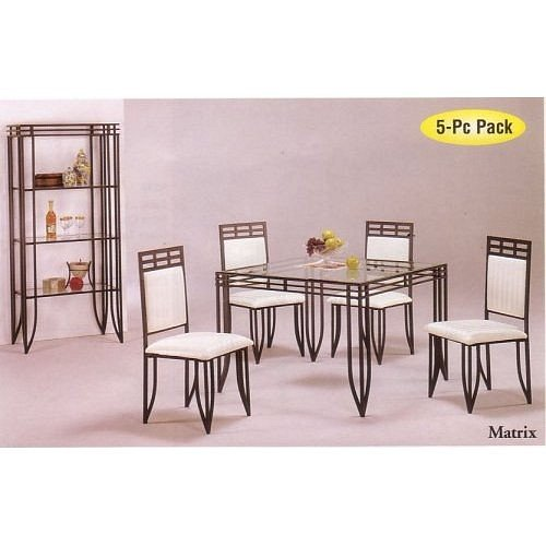 Wrought Iron Dining Chairs Amazoncom