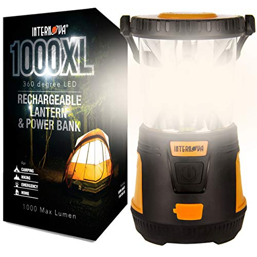 Internova Rechargeable Camping Lantern Power Bank