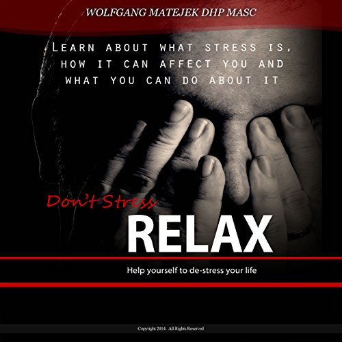Don't Stress - Relax audiobook cover art
