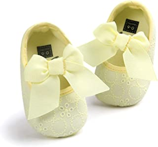 Casual Shoes Soft Bottom Non-Slip Toddler Shoes Princess Shoes for Baby(White) Casual Shoes