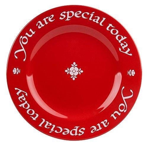 Waechtersbach Teller You Are Special Today Cherry Red by Waechtersbach