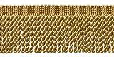 DÉCOPRO 10 Yard Value Pack|2.5 Inch Bullion Fringe Trim|Style# EF25 Color: C4 - Antique Gold|9.5 Meters / 30 Ft