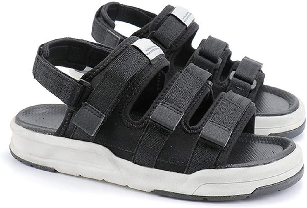 Anbenser Flat Sandals for Women Comfort Walking Shoes Three Strap Sandals for Beach, Water, Outdoor