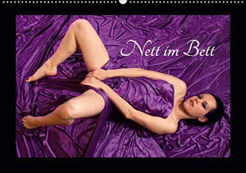 Nett im Bett (Wandkalender 2021 DIN A2 quer)