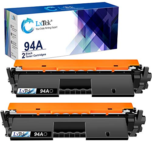LxTek Compatible Toner Cartridge Replacement for HP 94A CF294A to use with HP Laserjet Pro M118dw, Laserjet M118, M148dw, M148fdw, Laserjet M148 Series, M149 Printer (Black, 2 Pack)