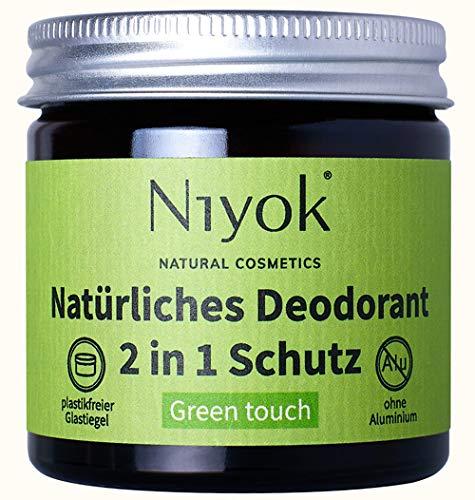Niyok® 2 in 1 Deodorant Creme Anti-Transpirant - Green Touch – 40ml