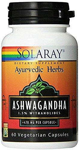 Solaray - Ashwagandha, 470 mg, 60 capsules