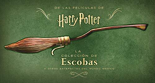 Harry Potter: La colección de escobas y otros artefactos del mundo mágico (Spanish Edition)