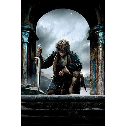 UHvEZ Hobbit 1000pcs_Adult Juego de Rompecabezas de Madera Juego de descompresión Juego para Adultos/niños Cerebro decoración del hogar 50x75cm