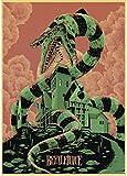 CAOHONG Nueva Actualización Muchos Tipos De Películas Carteles Retro Impresiones Pinturas Artísticas para Decoración De Tiendas 50 * 70 Cm (Sin Marco) Duradera