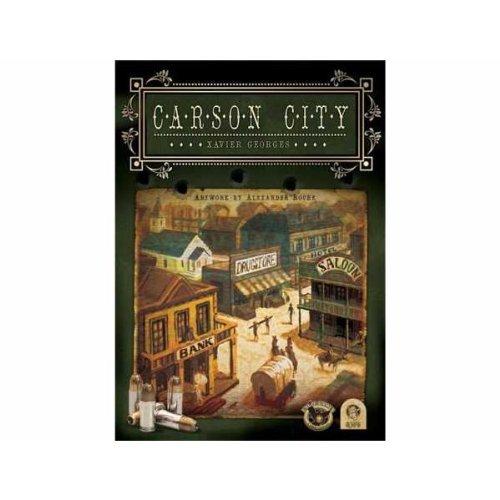 QWG 300197 Carson City - Juego de Mesa de Estrategia (edición Alemana) [Importado de Alemania]