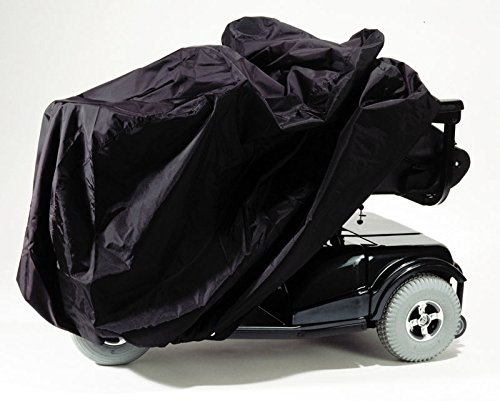 EZ-ACCESS Accessories, Power Chair Cover (3.25 lbs), Protect Your Power Wheelchair From Sun, Dust, and Mildew while In Storage Or Travel, Water Resistant, Includes Stuff Case, Tie Down Grommets