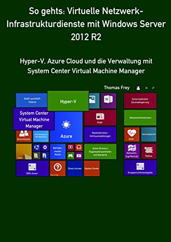 So gehts: Virtuelle Netzwerk-Infrastrukturdienste mit Windows Server 2012 R2: Hyper-V, Azure Cloud und die Verwaltung mit System Center Virtual Machine Manager