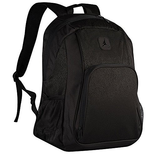 42853ae2d42a Amazon.com  Nike Jumpman Jordan Classic Black Graphic Laptop Book  Basketball Student Backpack  Computers   Accessories