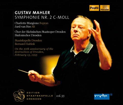 Staatskapelle Dresden Vol. 33; MAHLER: Symphonie Nr.2