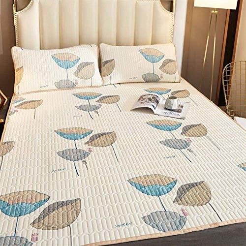 WXHHH Sommer-EIS-Silk Matratze, Faltbare Latex-Matratze Atmungsaktiv Und Soft Ice Silk Matte Klimaanlage Schlafenauflage