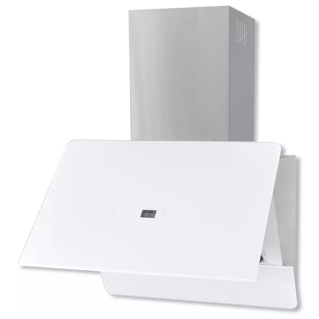 tuduo campana de cristal templado con pantalla 600 mm blanca Campanas extractoras Campanas cocina: Amazon.es: Grandes electrodomésticos