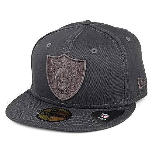 New Era Gorra de béisbol 59FIFTY NFL Team Tonal Oakland Raiders Gris